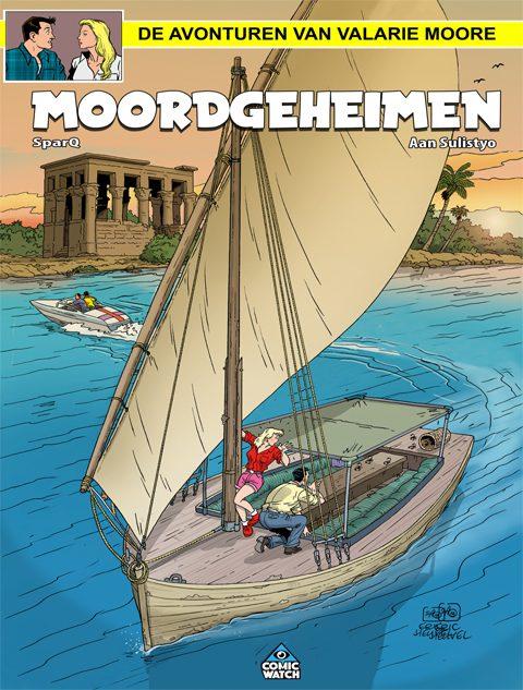 Valarie Moore: Moordgeheimen 1 (HC + incl. ex libris)